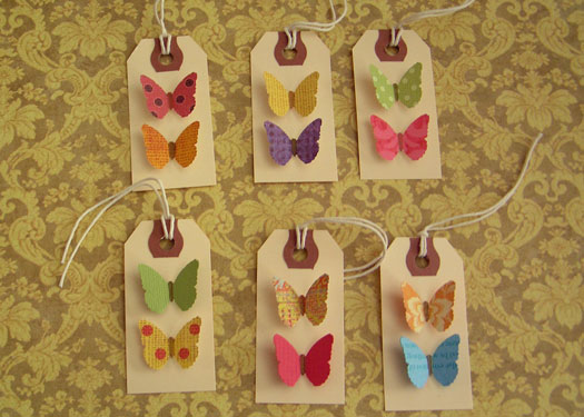 Butterfly-tags