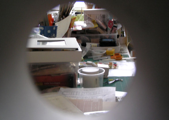 Peephole-view-of-craft-room