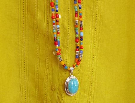 5-18 necklace beads turq 3